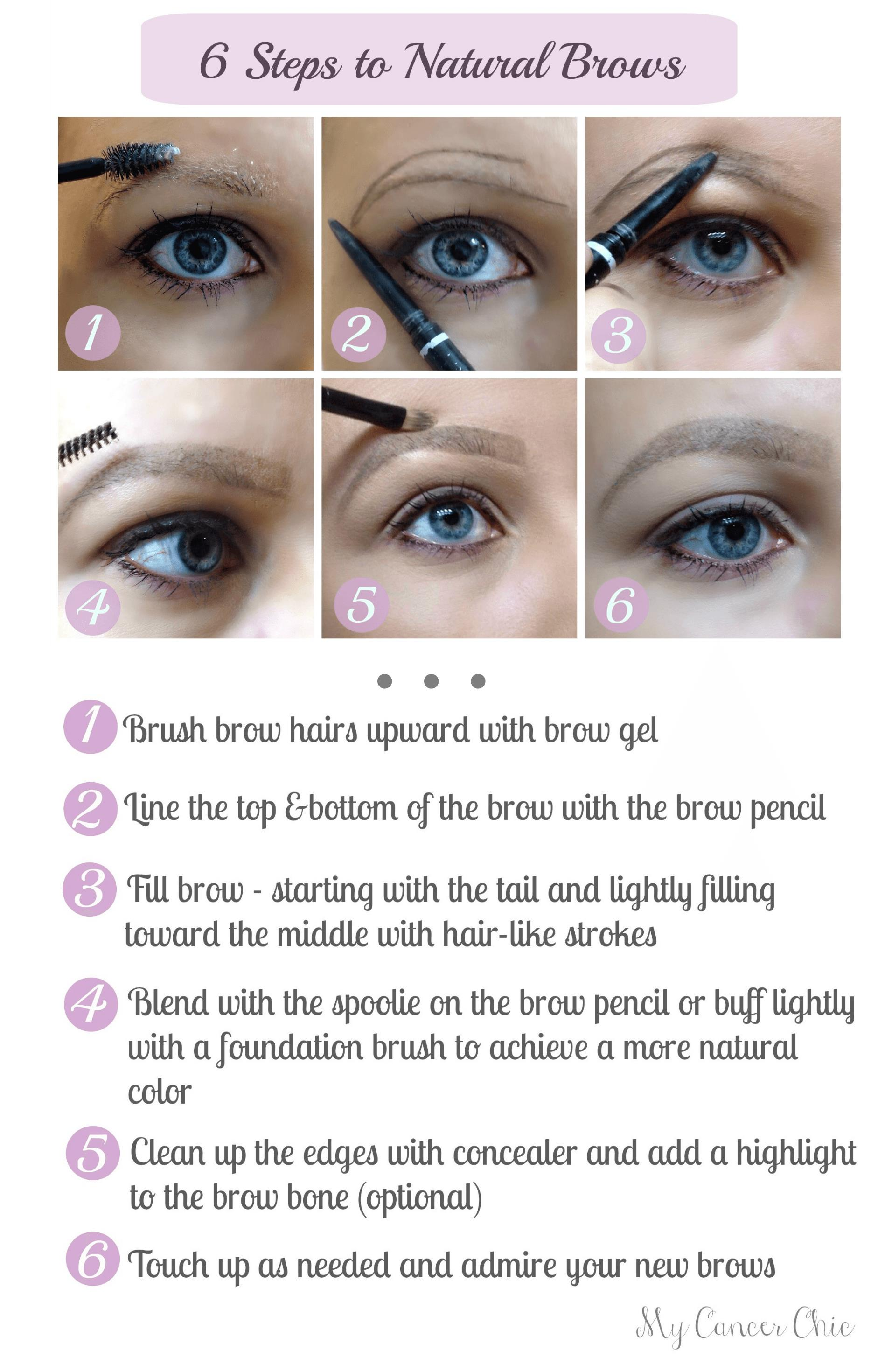 9 Steps to Natural Brows for Cancer Fighters