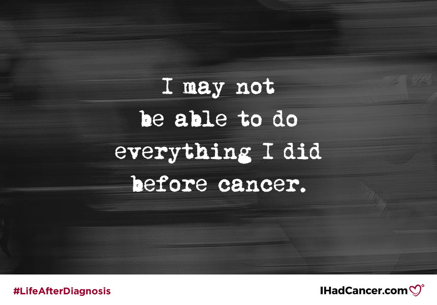 new normal after cancer quote