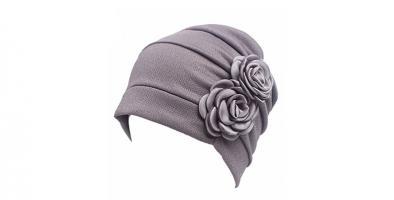 Ruffle Chemo Turban Headband Scarf